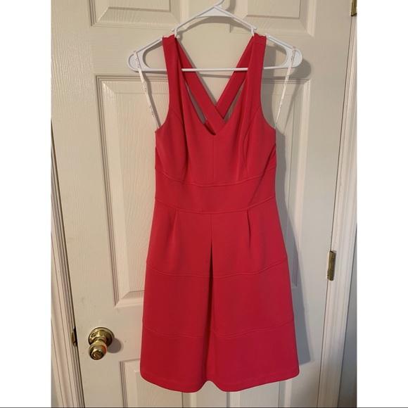Hot Pink Jessica Simpson dress